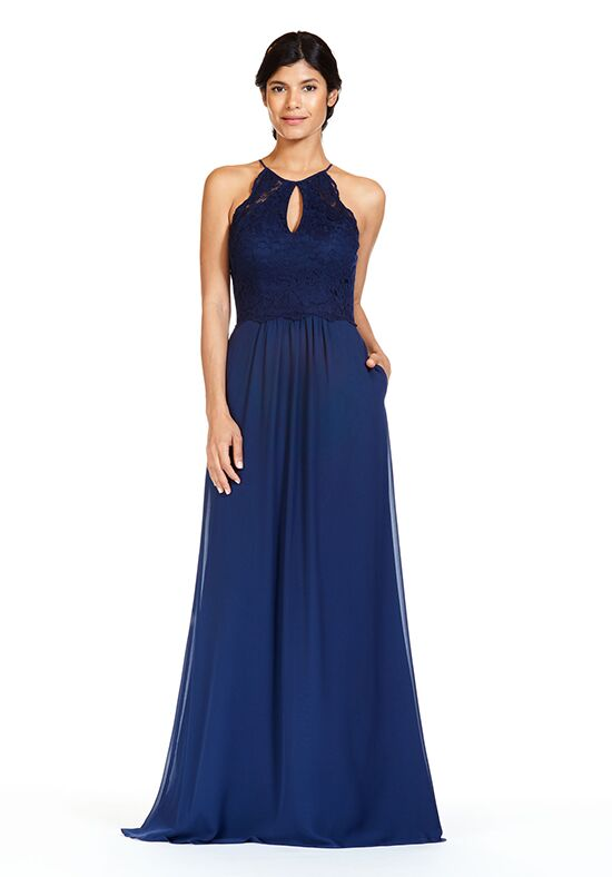 Bari Jay Bridesmaids BC-1827 Halter Bridesmaid Dress
