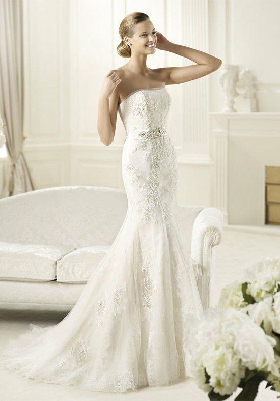 Pronovias diciembre wedding dress the knot for Pronovias wedding dresses price range