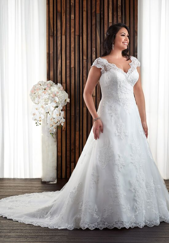 Unforgettable by Bonny Bridal 1704 A-Line Wedding Dress