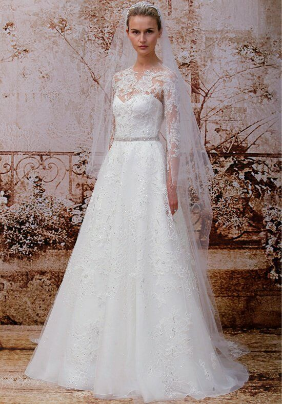Monique Lhuillier Portrait Wedding Dress