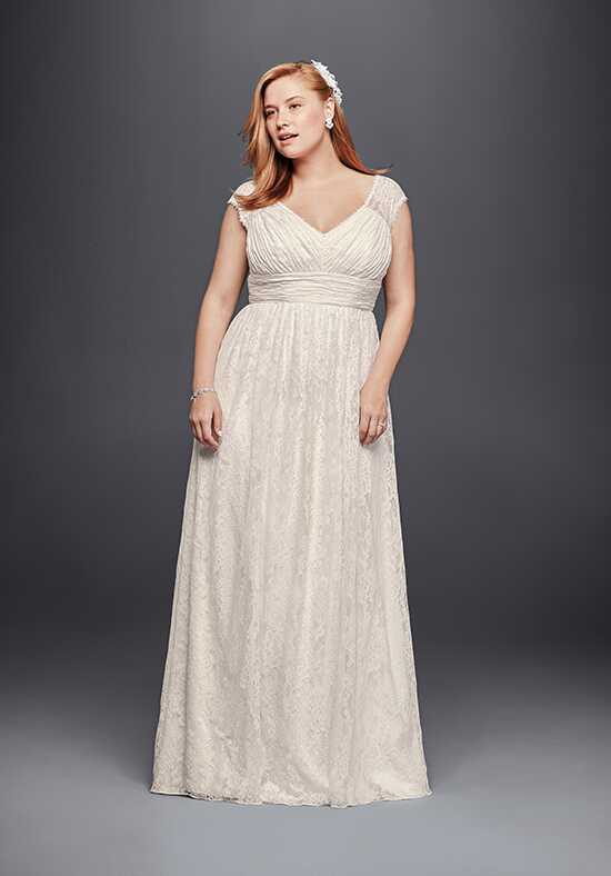 David's Bridal Galina Style 9KP3821 Sheath Wedding Dress