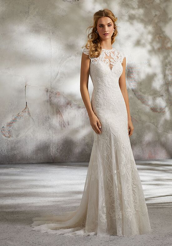 Morilee by Madeline Gardner 8288 / Lynette Sheath Wedding Dress