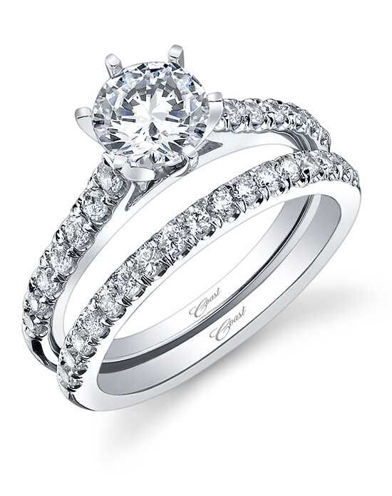 Coast Diamond LC5270 & WC5270 Engagement Ring photo