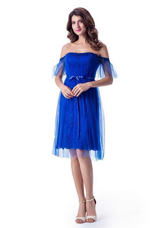 Venus Bridesmaids BM2239 Off the Shoulder Bridesmaid Dress