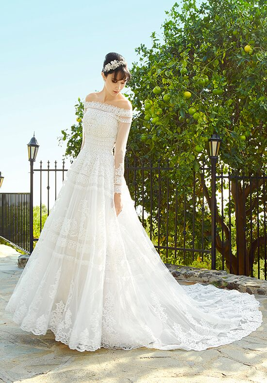 Val Stefani Wisteria James A-Line Wedding Dress