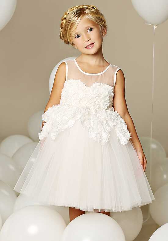 FATTIEPIE Marseille Ivory Flower Girl Dress