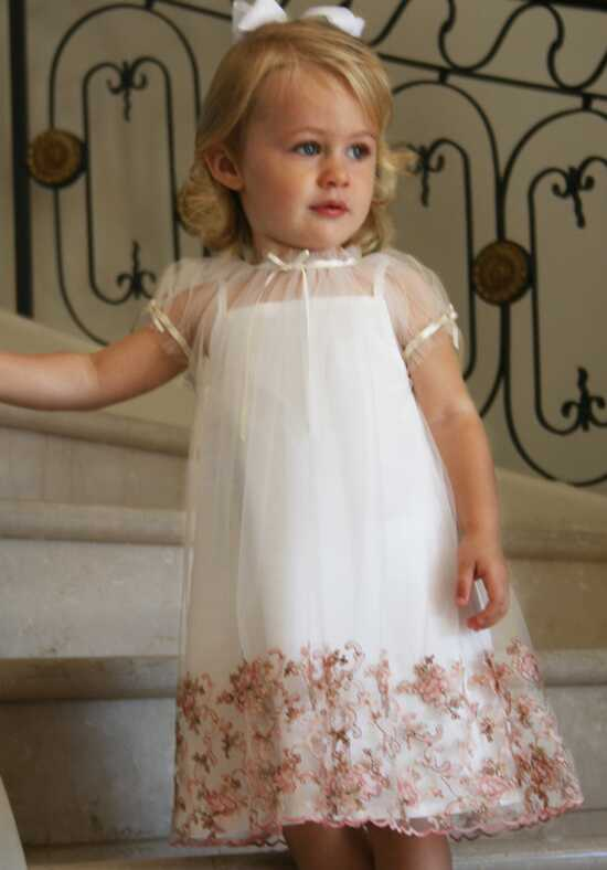 Isabel Garretón Cherish Pink Flower Girl Dress