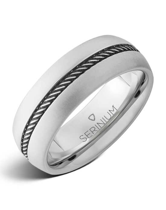 Serinium® Collection Roundup — Rope Engraved Serinium® Ring-RMSA002315 Serinium® Wedding Ring