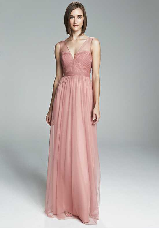 Amsale Bridesmaids Alyce V-Neck Bridesmaid Dress