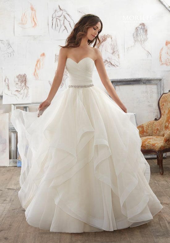 Morilee by Madeline Gardner/Blu 5504 Ball Gown Wedding Dress