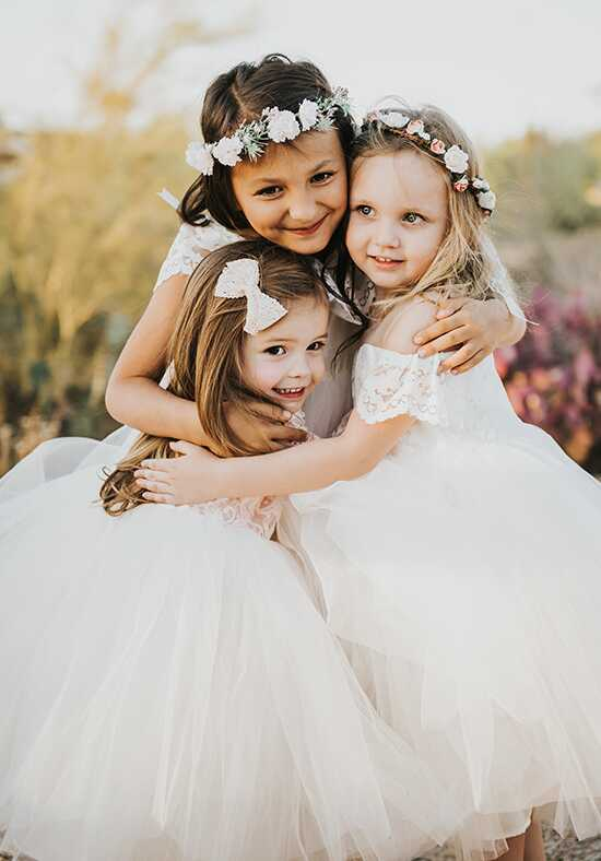 FATTIEPIE Madison Ivory Flower Girl Dress