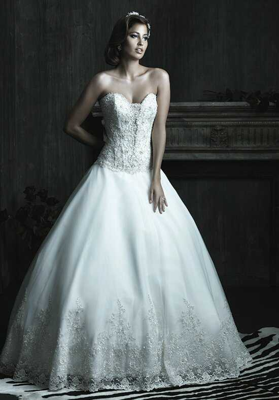 Allure Couture C206 Ball Gown Wedding Dress